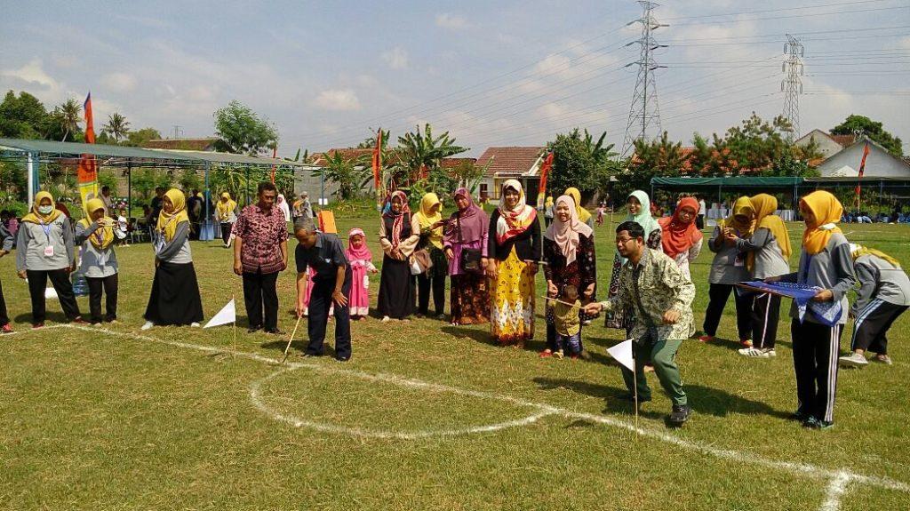 Pembukaan GPSD oleh Wakil Rektor III